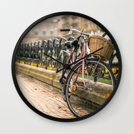 Vintage bicycle Wall Clock