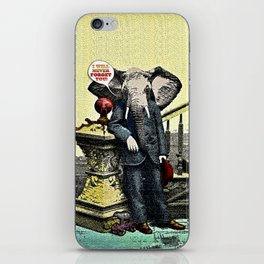 I Will Never Forget You! iPhone Skin