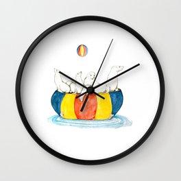 Sea Lion Haulout Rock Wall Clock