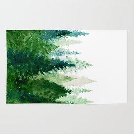 Pine Trees 2 Rug