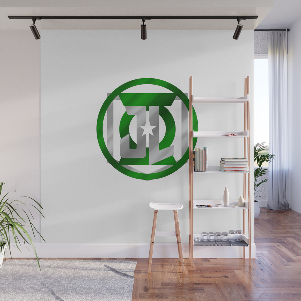 Green Space Cops Wall Mural by Prometheus31 WMP7989395