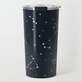 Air - Night Sky Illustration Travel Mug