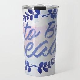TBR Travel Mug