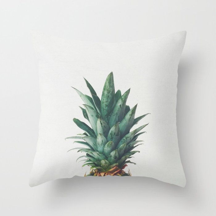 Pineapple Top Throw Pillow