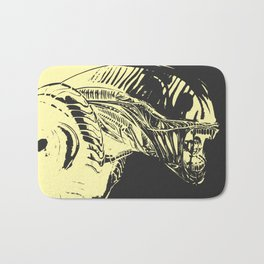 Aliens Colors Bath Mat