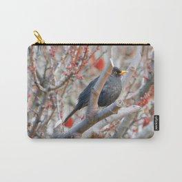 Black Bird Carry-All Pouch