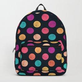 Watercolor Dots Pattern VI Backpack