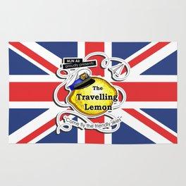 The Travelling Lemon - Union Jack edition Rug