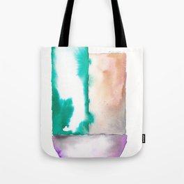 180914 Minimalist Geometric Watercolor 7 Tote Bag