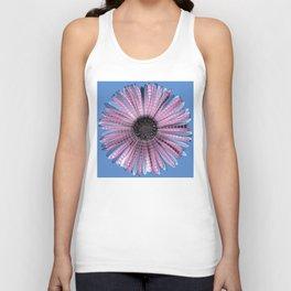 Urban daisy wearing street-cred stripes Unisex Tank Top