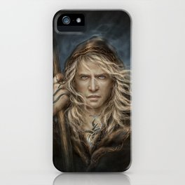 The Undying King iPhone Case