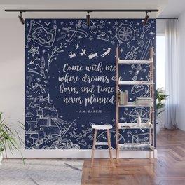 Where dreams are born Wall Mural