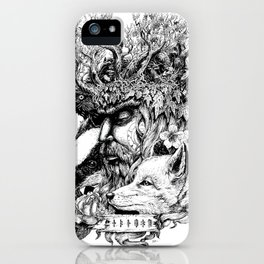 Jack in the Green iPhone Case