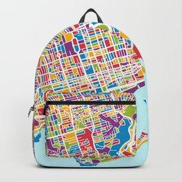 Toronto Street Map Backpack