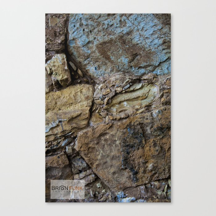 Color Rock Canvas Print