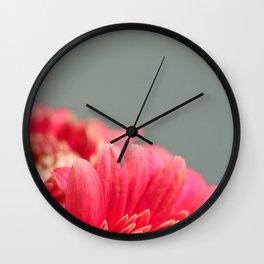 006 Flower Wall Clock