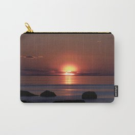 Shock-wave Sunset Carry-All Pouch