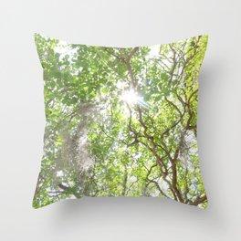 Charleston Moss Throw Pillow