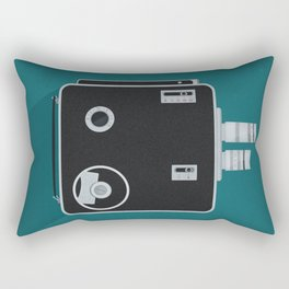 Movie Camera Rectangular Pillow