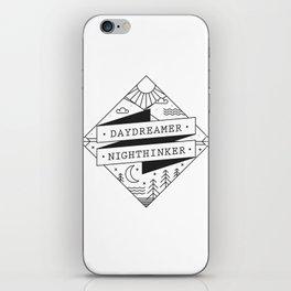 daydreamer nighthinker II iPhone Skin