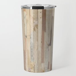 Wood Planks Travel Mug