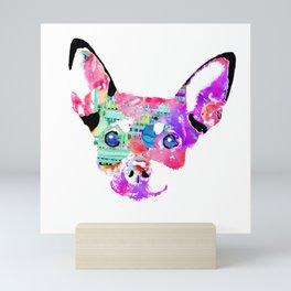 joaquin the chihuahua Mini Art Print