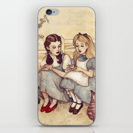 Dorothy and Alice iPhone Skin
