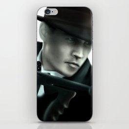 Johnny Depp// John Dillinger iPhone Skin