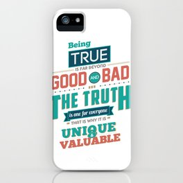 Nine Noble Virtues - Truth iPhone Case