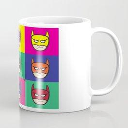 Bat-Popart-Man Coffee Mug