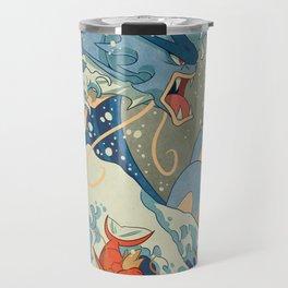 The Great Wave Travel Mug
