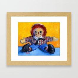 Raggedy Andy Framed Art Print
