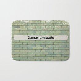 Berlin U-Bahn Memories - Samariterstraße Bath Mat