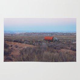 Pastel Sunsets in the Desert, Plus Truck Rug