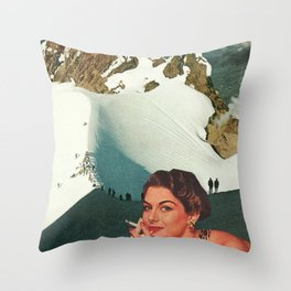 Not Worth the Climb Throw Pillow