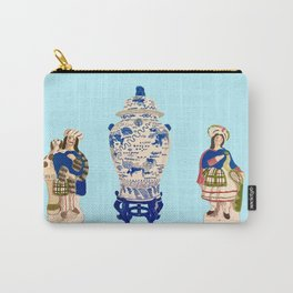 Tsochtkes and Ginger Jar Carry-All Pouch