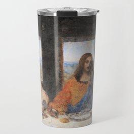 Last dinner Leonardo Da Vinci Travel Mug