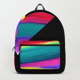Moonlight Magic - Pyramids Silhouette Backpack