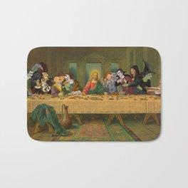 Tax Collectors and Sinners: Pop Culture Last-Supper Bath Mat
