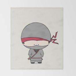 Natsu the Ninja Throw Blanket