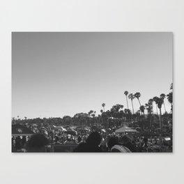 Santa Barbra  Canvas Print
