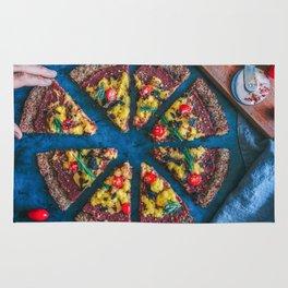 Cauliflower Vegan Pizza Rug