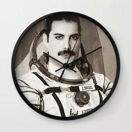Freddie Among the Stars Wall Clock