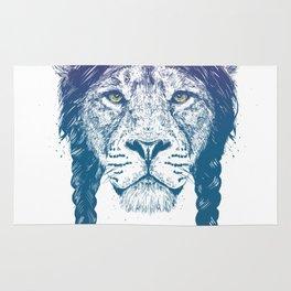 Warrior lion II Rug