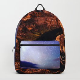 Horseshoe Bend Starseeds - Starry Sky Night at Grand Canyon Arizona Backpack