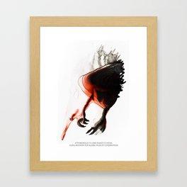 Attenborough's Long-Beaked Echinda Framed Art Print