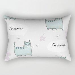 Catitude Rectangular Pillow
