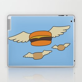 Bob's Burgers Flying Hamburger picture Laptop & iPad Skin