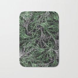 Green Magical Wisps Bath Mat