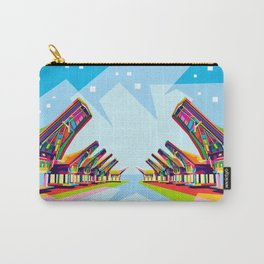 Toraja Land In Pop Art Carry-All Pouch